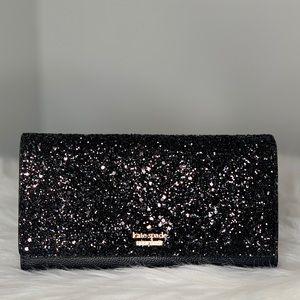 kate spade Bags - Kate Spade Milou Laurel Way Glitter Smart Clutch